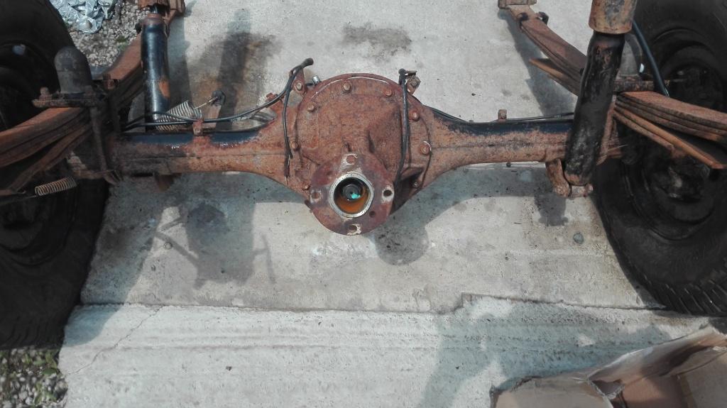 Foi de arc spate Ford Ranger, an fabricatie 2006