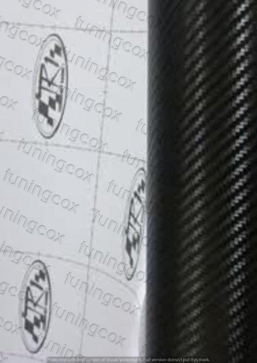 Folie carbon 3d 127cm neagra