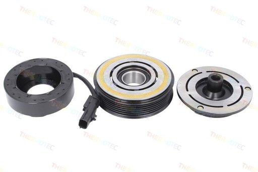 Fulie ambreiaj compresor AC (Denso 10SR17C 12V 6PK 110mm) CHRYSLER VOYAGER V; DODGE GRAND CARAVAN 2.8D-3.8 10.