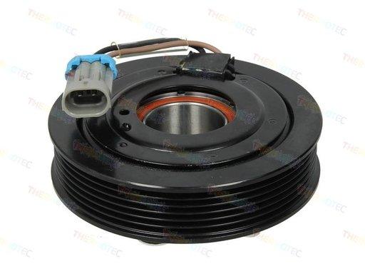 Fulie ambreiaj compresor AC (Sanden 6PK 124mm) CADILLAC BLS; FIAT CROMA; OPEL SIGNUM, VECTRA C, VECTRA C GTS;