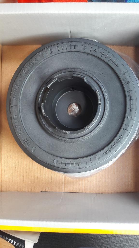 Fulie vibrochen arbore cotit BMW 320D -136 CP, 318D - 116 CP