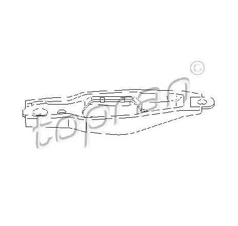 Furca decuplare, ambreiaj SEAT LEON ( 1P1 ) 05/2005 - 12/2012 - piesa NOUA - producator TOPRAN 109 642 - 305431