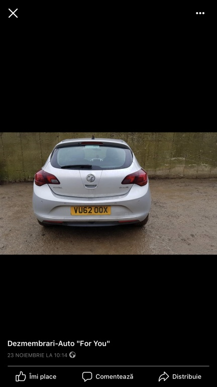 Fuzeta stanga fata Opel Astra J 2012 Hatchback 1.7