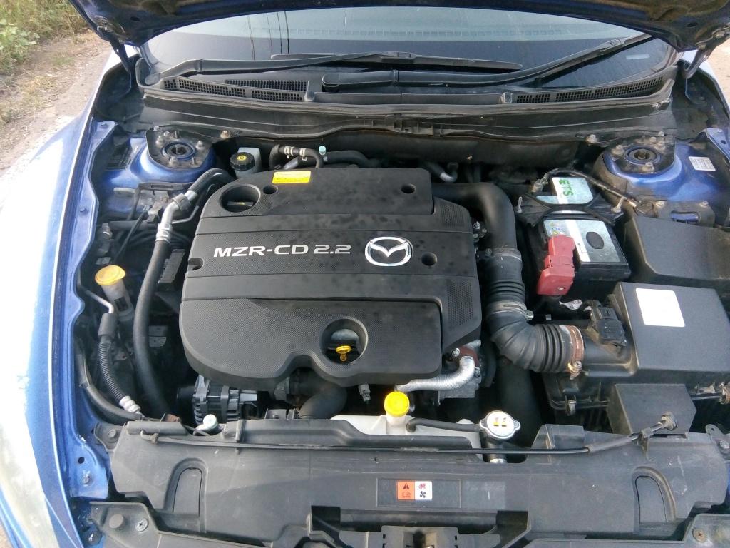 Fuzeta stanga spate Mazda 6 2010 Sedan 2.2d