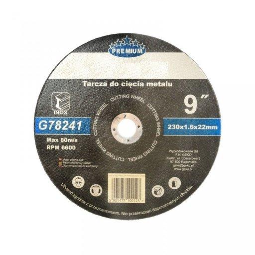 G-G78241 Disc pentru taiere metal 230x1.6x22.2