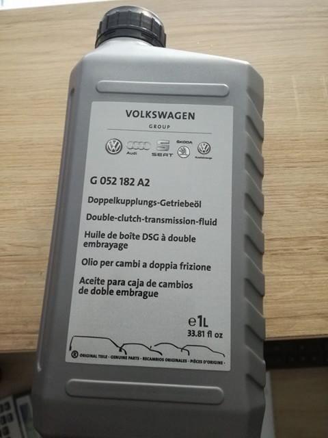 G052182A2 Ulei cutie automata DSG cu dublu ambreiaj VW AUDI SEAT SKODA
