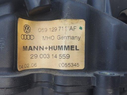 Galerie admisie cu clapeti Audi A6 C6 3.0TDI