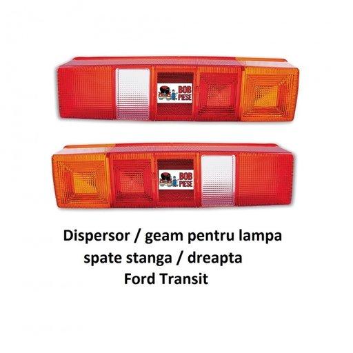 Geam / dispersor lampa spate / tripla stanga dreapta Ford Transit | Piese Noi | Livrare Rapida