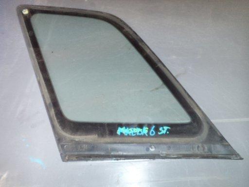 Geam lateral stanga spate Mazda 6 2003