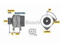 Generator / alternator OPEL ASTRA H TwinTop ( L67 ) 09/2005 - 2018 - producator BOSCH 0 986 080 100 - 305453 - Piesa Noua