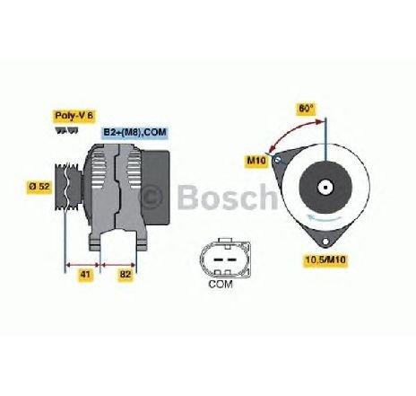 Generator / alternator PORSCHE BOXSTER SPYDER ( 98