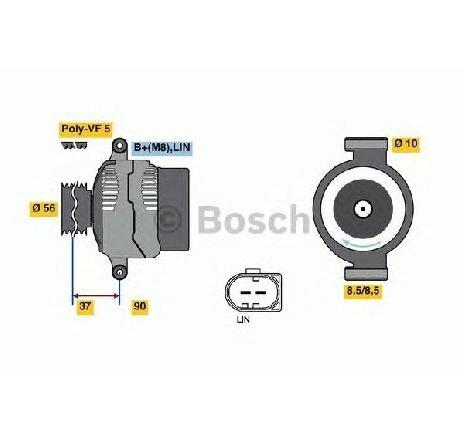 Generator / alternator VOLVO V40 HATCHBACK 03/2012