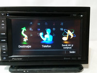 Gps auto 2din pioneer avic f920bt divx sd touchscreen bluetooth