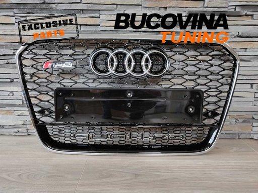 Grila Audi A6 4G (10-14) RS6 quattro Design
