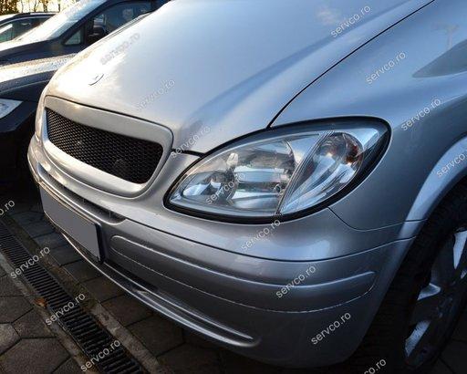 Grila fara semn Mercedes W639 Vito 2 Viano V class tuning sport 2003-2014 v1