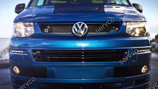 Grila tuning sport VW T5 Transporter Caravelle Multivan Facelift 2010-2015 v4