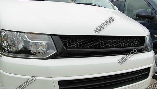 Grila tuning sport VW T5 Transporter Caravelle Multivan Facelift 2010-2015 ver3