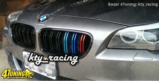 GRILE BMW SERIA 5 F11 NEW M5 M LOOK NEGRU ///M COLOUR