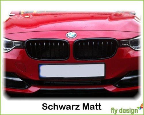 GRILE fata BMW F30 seria 3 dupa 2012 negru mat