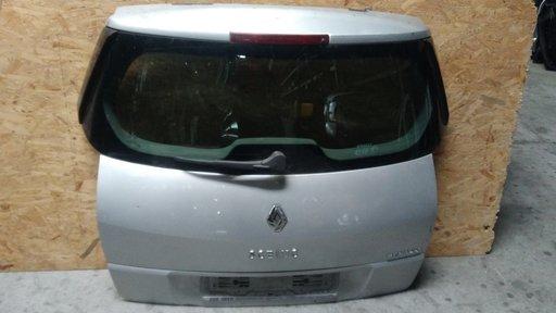 Haion cu luneta Renault Scenic facelift 2007