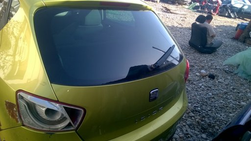 Haion cu luneta Seat Ibiza 6J Hatchback din 2009 2