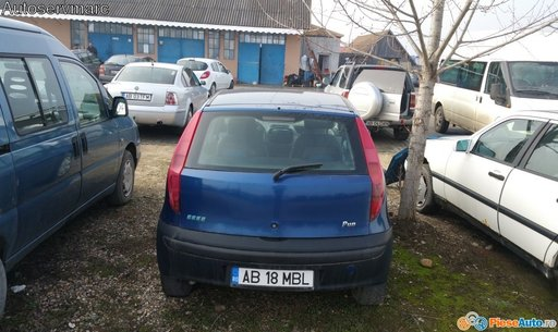 Hayon cu luneta pentru Fiat Punto din 2001 , 1.2 benzina varianta hatchback