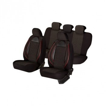 Huse scaune auto Seat Ibiza Racing Negru