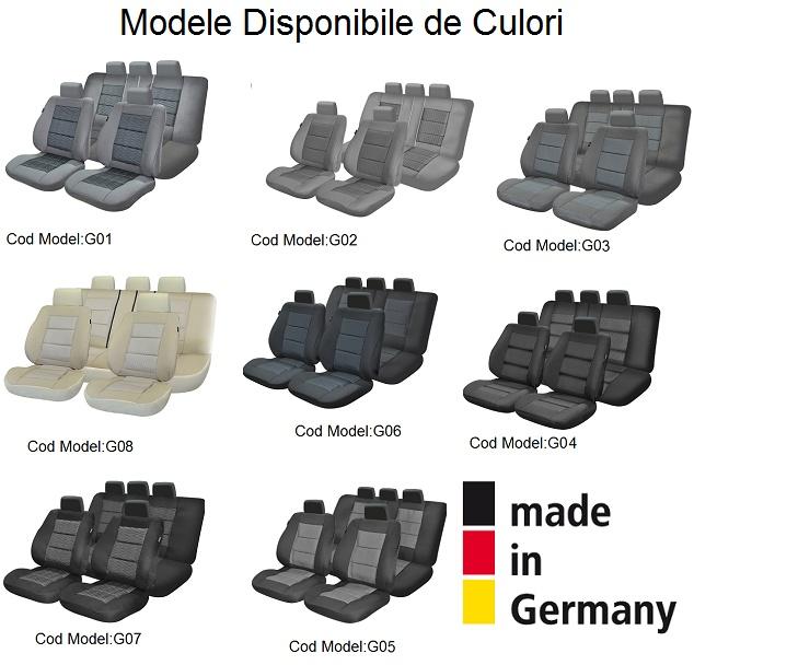 Huse Scaune Dedicate Mini ClubMan 2006-2015 Premium
