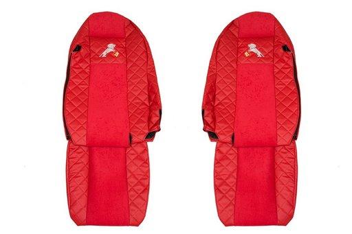 Huse scaune din imitatie de piele pentru Man TGX euro 5