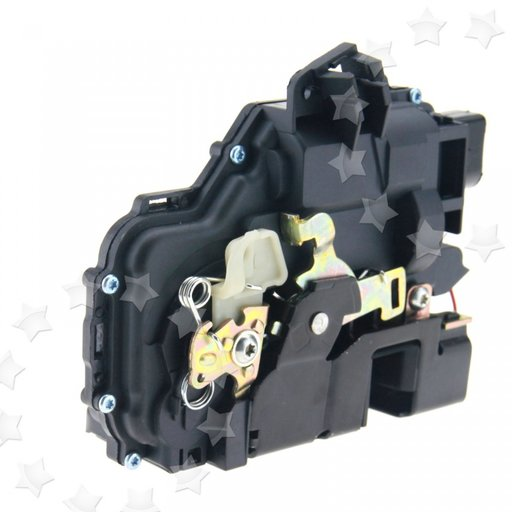 Incuietoare/broasca usa fata stg cu inch centralizata VW BORA,GOLF 4,PASSAT,SKODA OCTAVIA,SEAT LEON,TOLEDO 2