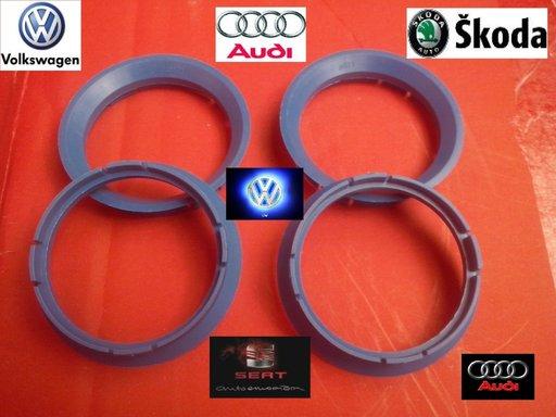 Inele de centrare 63.3 x 57.1 pt Jante aliaj VW, Audi, Skoda, Seat