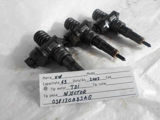 Injectoare Seat Ibiza 1.9 TDI 2002 cod oe: 038 130 073 AG