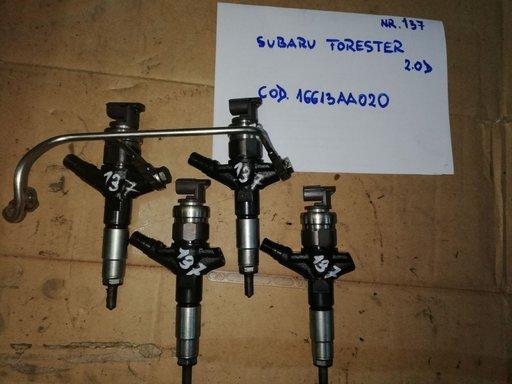 Injectoare Subaru Forester 2.0 diesel, DENSO 16613AA020, an 2008-2013