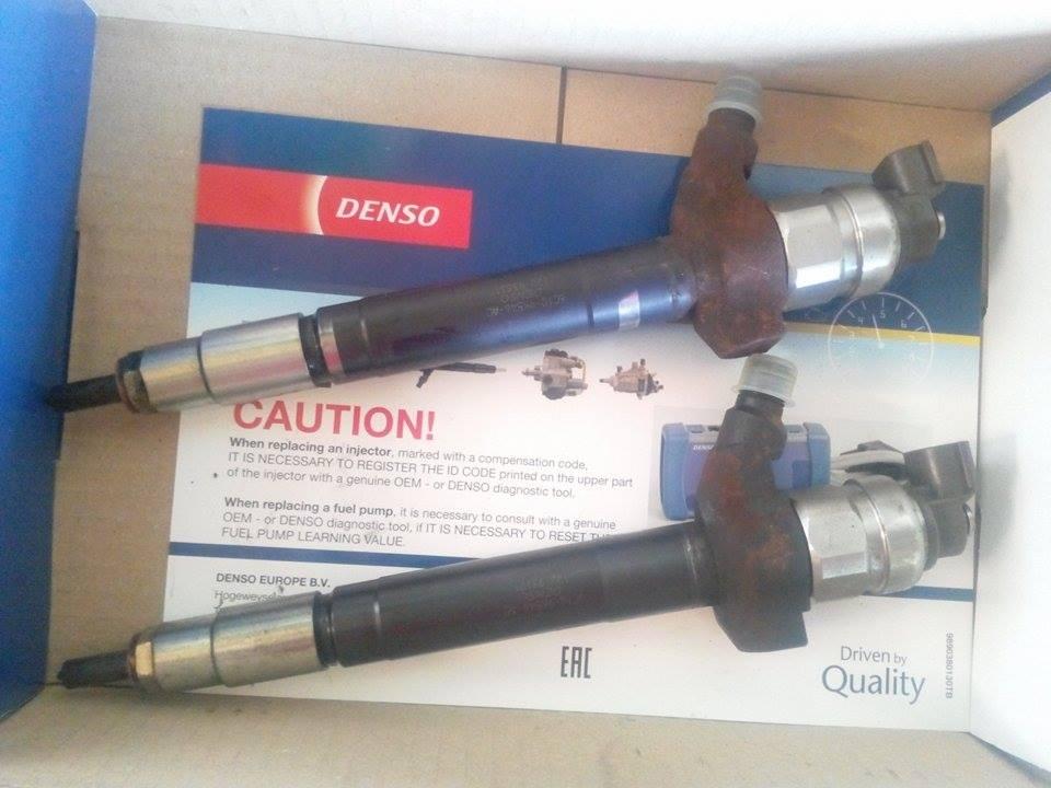 Injector Denso -Ford/Fiat/Citroen /Peugeot 2 2/2 4 diesel ,cod 0950005801