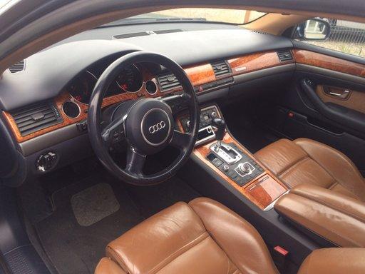 Interior Audi A8 2003-2009 scaune bancheta fete usi culoare maro