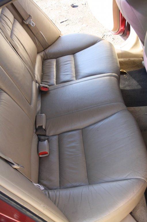Interior Honda Accord, piele crem