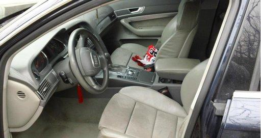 Interior Piele Crem Audi A6 S Line Complet