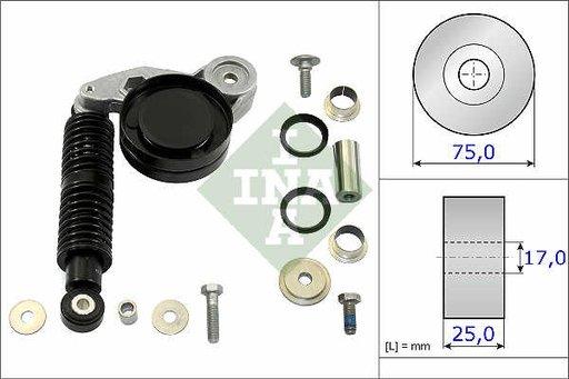 Intinzator complet cu amortizor vibratii AUDI A6 A4 2.5 TDI SKODA SUPERB VW PASSAT 2.5 TDI