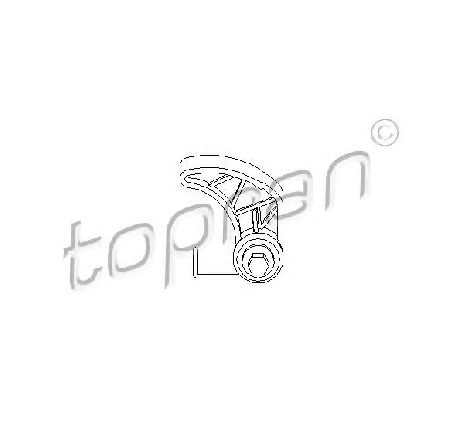 Intinzator lant, antrenare pompa ulei AUDI A6 ( 4B2, C5 ) 01/1997 - 01/2005 - piesa NOUA - producator TOPRAN 109 612 - 301891