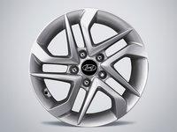 """Janta aliaj 16"""" 6.5Jx16 - anvelope 215/70 R16 pentru noul Hyundai Tucson 2016- Original 52910-D7110PAC"""