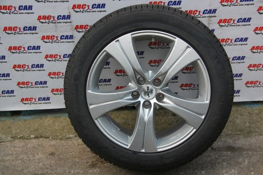 Janta aliaj Autec cu anvelopa M+S de iarna Michelin Audi 235 / 50 / R18 8.0JX18H2 5X112 ET 42 DOT 2015
