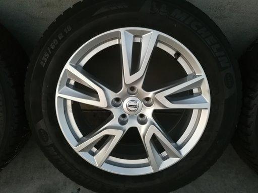 """Jante 5 Spite duble 18"""" 5x108 Volvo XC60 XC70 XC90 S60 V60 S80 V70 S90 V90 V40 S40 V50 C30 C70 + anvelope iarn"""