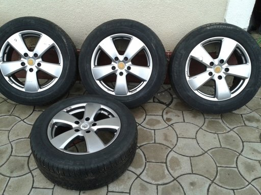 Jante AL cu cauciucuri de iarna 255/55 r18 Audi Q7 P