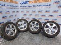 Jante aliaj 6JX16 H2 5X112,ET46, pentru gama de masini Mercedes (set 4 bucati+anvelope iarna 195/65R16)