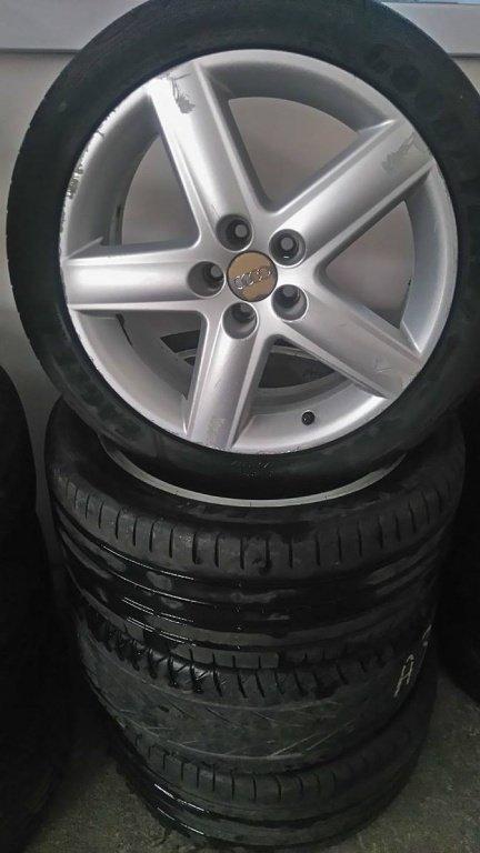 Jante aliaj Audi S-Line R17 5 prezoane