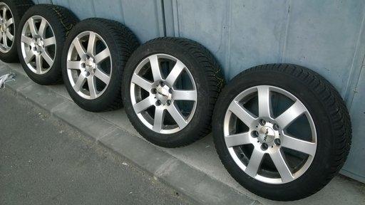 Jante aliaj Autec pe 16 VW Audi Skoda Seat Mercedes, 5x112.