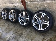 Jante aliaj BMW cu cauciucuri vara R19 pt bmw 5 6 F10 F12