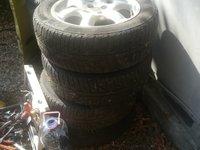 Jante aliaj cu anvelope de iarna MG Rover 25/ Honda Acord, dimensiune 205 55 16