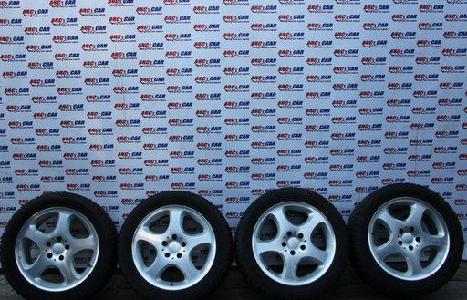 Jante aliaj cu anvelope M+S de iarna Dunlop 255 / 45 / R17 8JX17H2 ET37 cod A2104011502 Mercedes S-CLASS W220