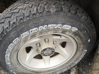 Jante aliaj cu cauciucuri 235 75 15 Opel frontera Mitsubishi pajero nissan terrano